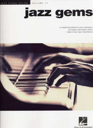 Jazz Piano Solos Vol.13 - Jazz Gems - Piano