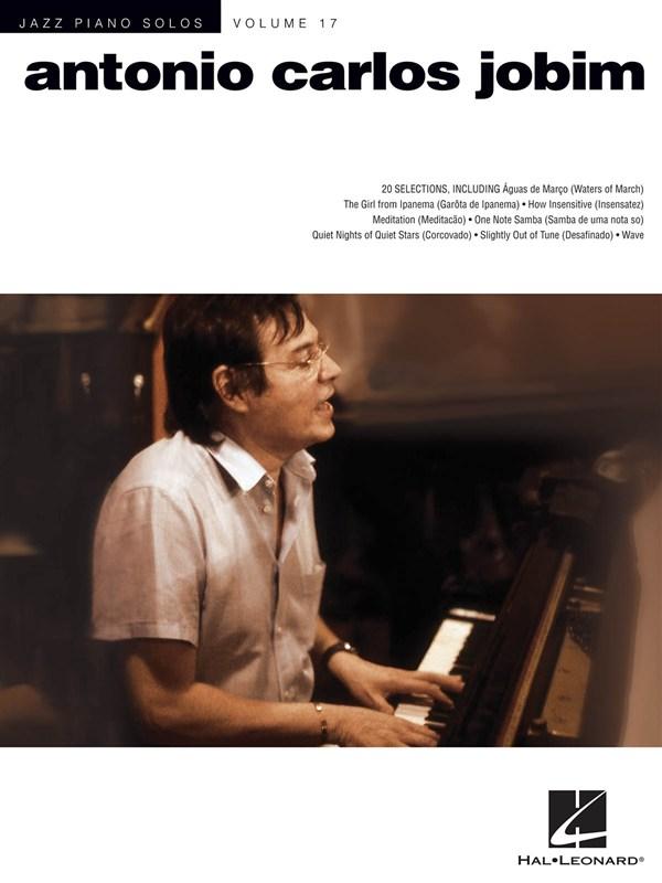 Jazz Piano Solos Volume 17 - Jobim Antonio Carlos - Piano Solo