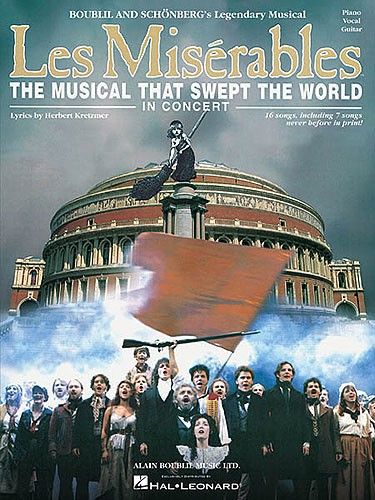 Les Miserables In Concert - Piano, Voice, Guitar - Pvg