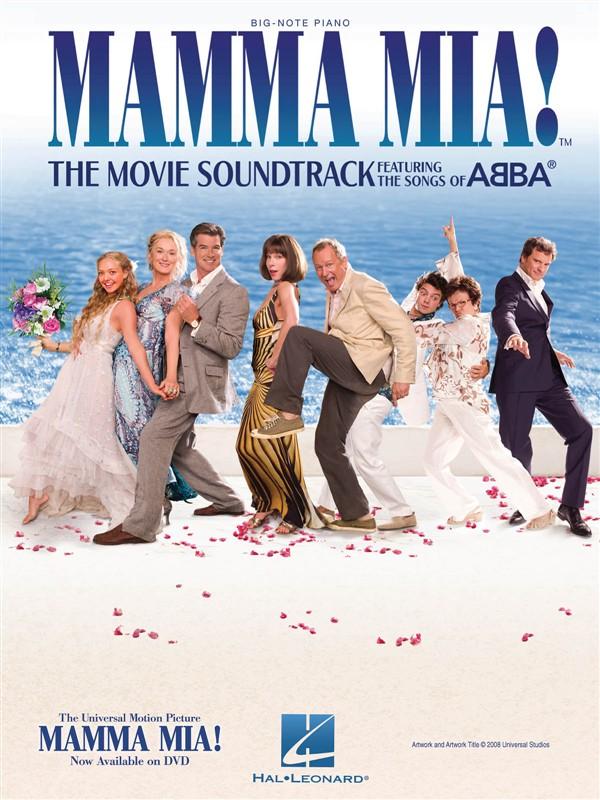 Mamma Mia! The Movie Soundtrack Featuring The Songs Of Abba Big Not - Piano Solo