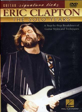 Clapton Eric -  Signature Licks - Solo Years - Guitar