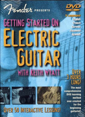 Wyatt Keith -  Fender Getting Started On Electric Guitar