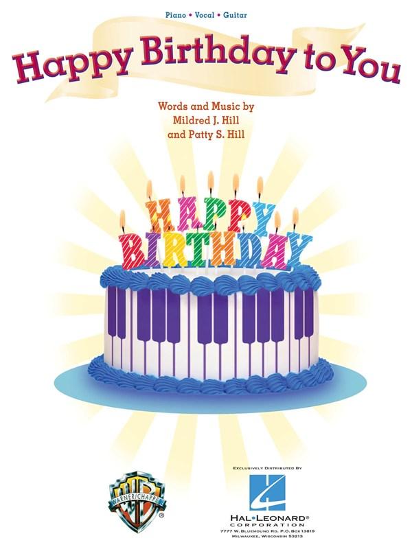 Happy Birthday Sheet Music Scores Partituras Spartitis