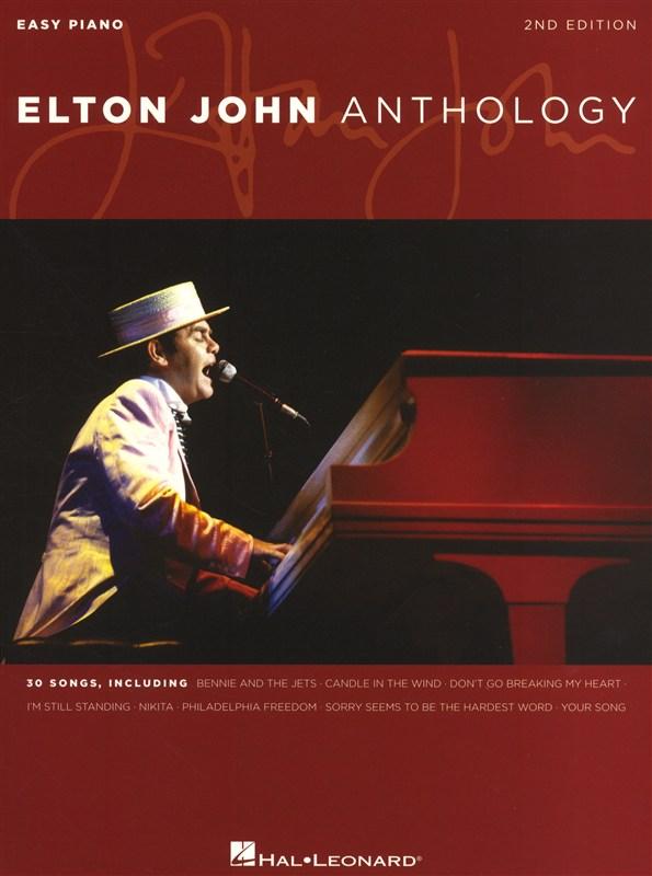 Elton John - Anthology 2nd Edition - Piano Solo