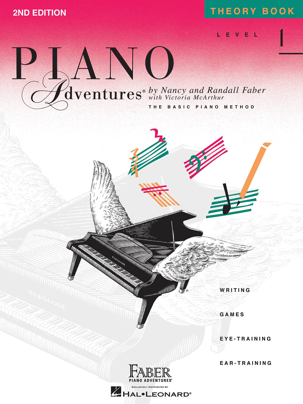 FABER NANCY & RANDALL - PIANO ADVENTURES - THEORY BOOK - LEVEL 1
