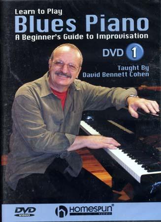 Cohen David B. -  Blues Piano Vol.1