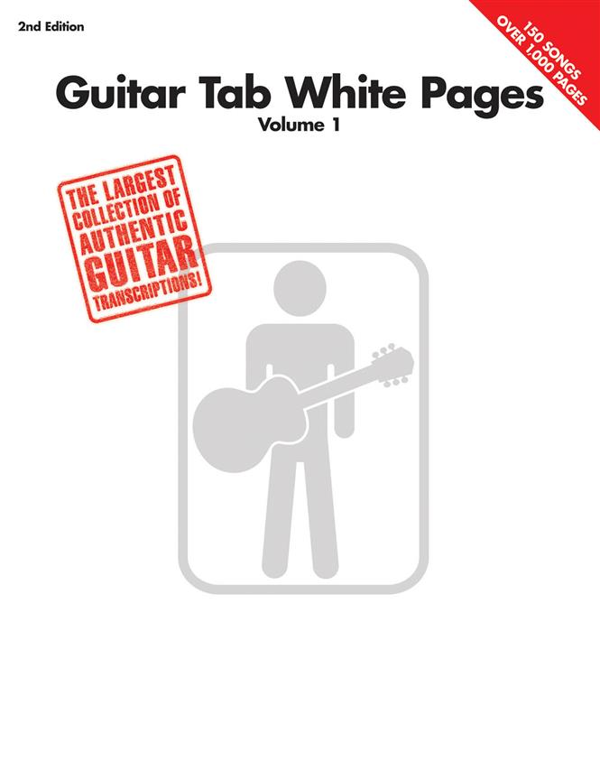 Hal leonard white pages vol.1 2nd edition guitar tab