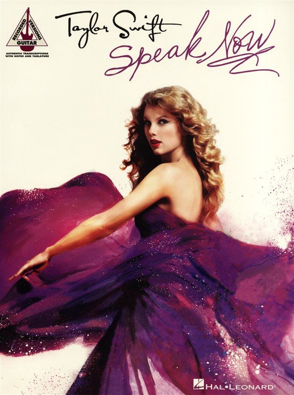 Swift Taylor - Speak Now Guitar Recorded Version - Guitar Tab