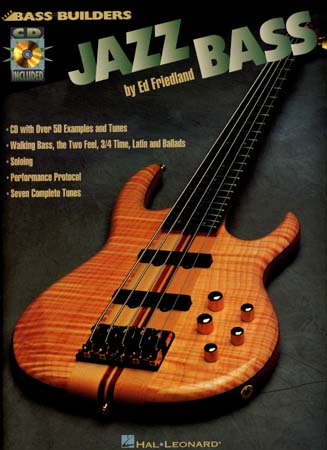 Friedland Ed - Jazz Bass + Cd