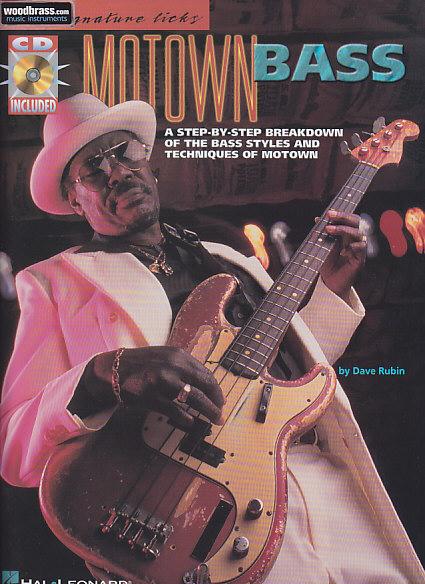 Signature Licks - Motown Bass + Cd