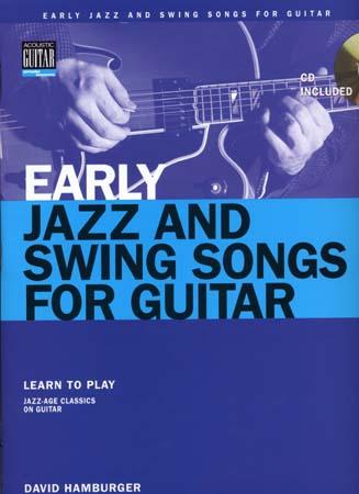Hamburger David - Early Jazz And Swing Songs + Cd - Guitar Tab