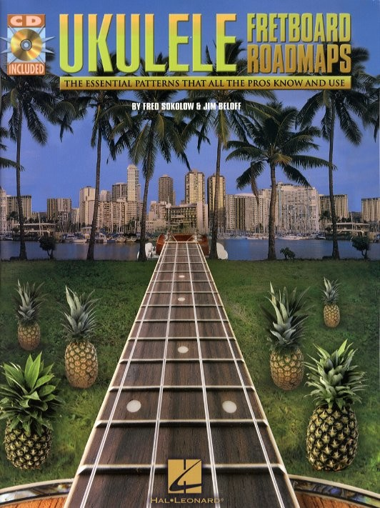 Sokolow Fred / Beloff Jim - Fretboard Roadmaps + Cd - Ukulele Tab