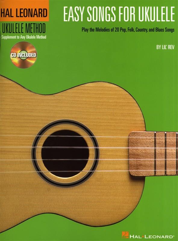 Easy Songs For Ukulele + Cd