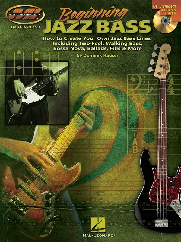 Beginning Jazz Bass Blues B+ Cd - Bass Guitar Tab