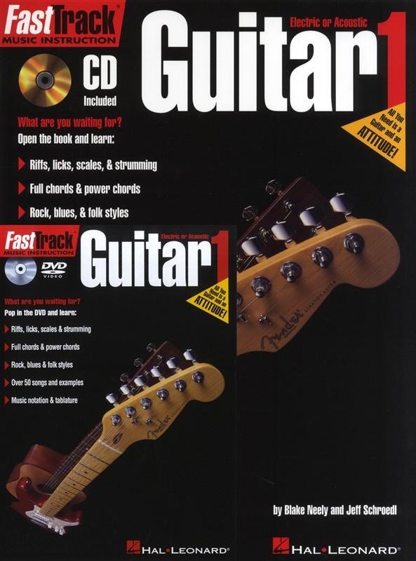 Fast Track Starter Pack Guitar + Cd/dvd Pack - Guitar
