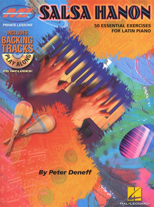 Salsa Hanon Play Along - 50 Essential Exercises Latin Piano + Cd - Piano Solo