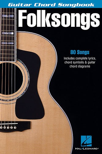 Guitar Chord Songbook Folksongs - Lyrics And Chords