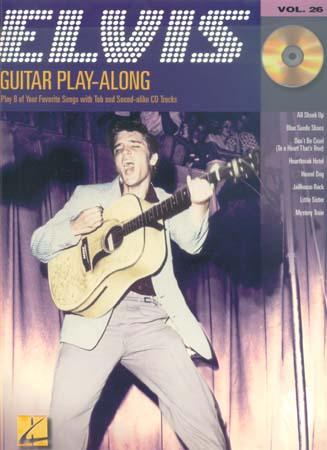Presley Elvis - Guitar Play Along Vol.26 + Cd - Guitar Tab