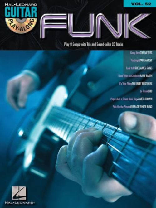 GUITAR PLAY ALONG VOL.052 - FUNK + CD - GUITAR TAB