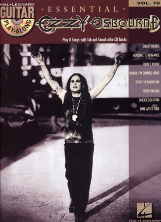 Osbourne Ozzy - Guitar Play Along Vol.70 - Essential + Cd - Guitar Tab