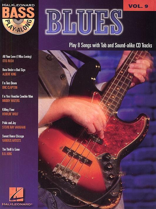 Bass Play Along Vol.9 - Blues + Cd - Bass Tab
