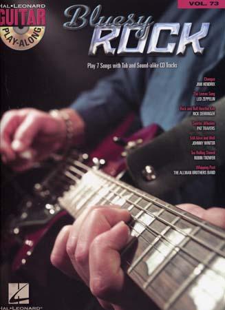Guitar Play Along Vol.73 - Bluesy Rock + Cd - Guitar Tab