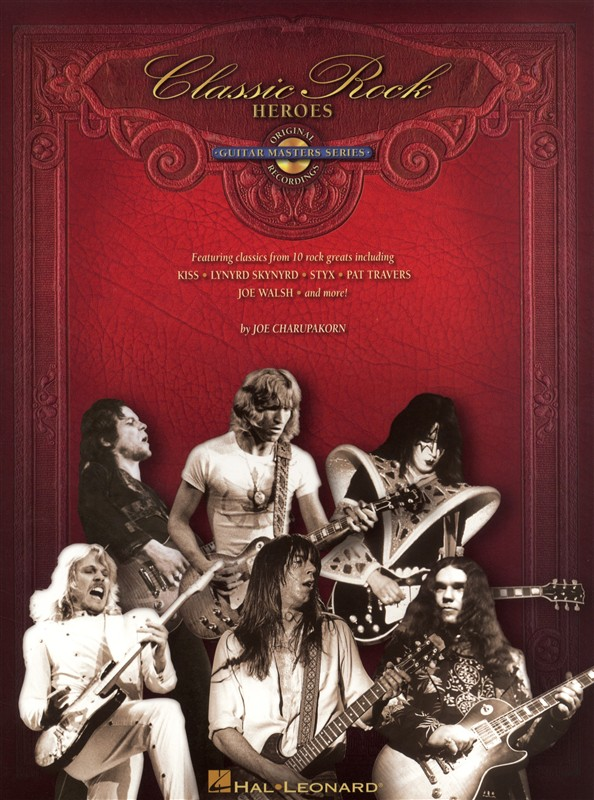 Classic Rock Heroes Guitar Master Series Guitar Tab + Cd - Guitar