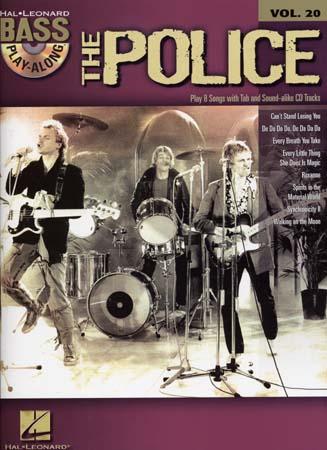 Police - Bass Play Along Vol.20 + Cd - Bass Tab