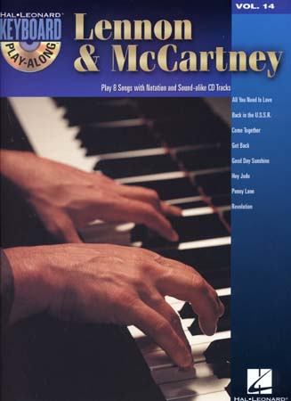 LENNON & McCARTNEY - KEYBOARD PLAY ALONG VOL.14 + CD - PIANO, CHANT