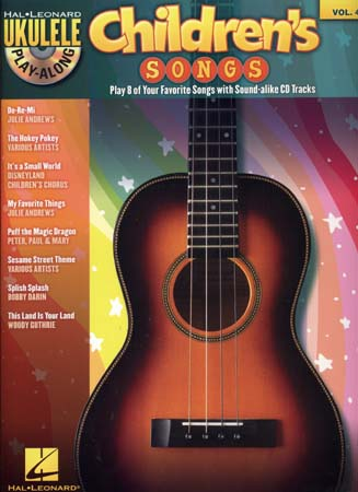 Ukulele Play Along Vol.vol.4 Children's Songs + Cd