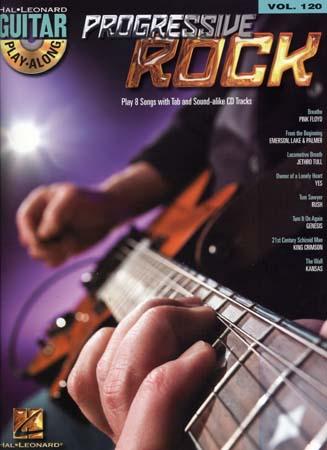 Guitar Play Along Vol.120 - Progressive Rock + Cd - Guitar Tab