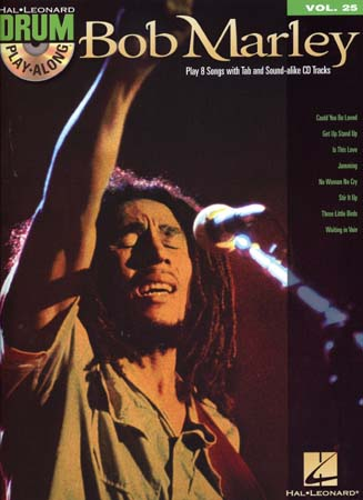 Drum Play Along Vol.25 Bob Marley + Cd