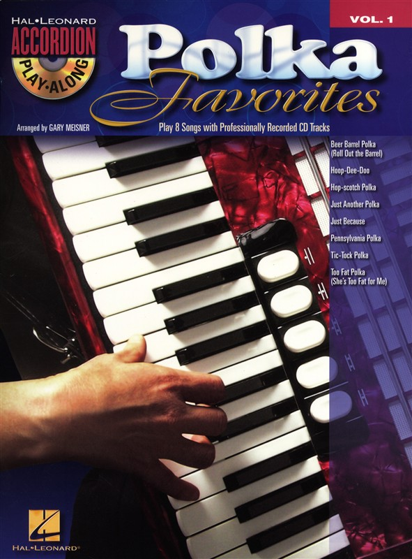 Accordion Play Along Volume 1 Polka Favorites Accordion + Cd - Accordion