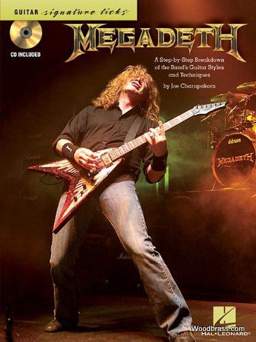 Megadeth Guitar Signature Licks - Guitar Tab