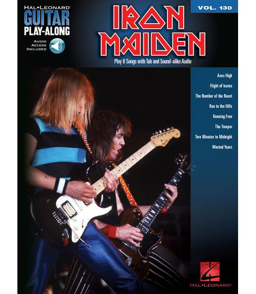 Guitar Play-along Vol.130 - Iron Maiden