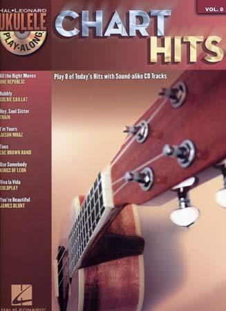 Ukulele Play Along Vol.8 - Chart Hits + Cd