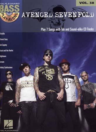 Bass Play Along Vol.38 Avenged Sevenfold + Cd