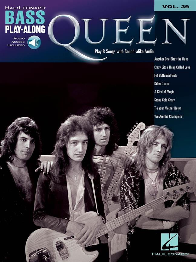 Bass Play Along Vol.39 - Queen