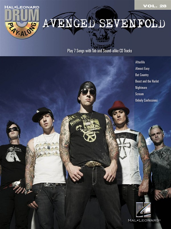 DRUM PLAY ALONG VOLUME 28 AVENGED SEVENFOLD DRUMS + CD - DRUMS