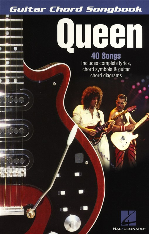 Queen - Guitar Chord Songbook - Lyrics And Chords