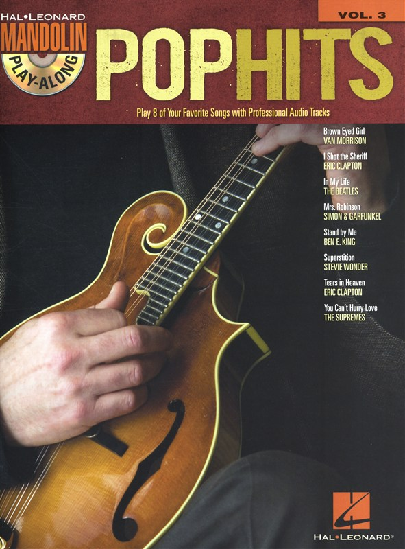 Mandolin Play Along Volume 3 Pop Hits Mand + Cd - Mandolin