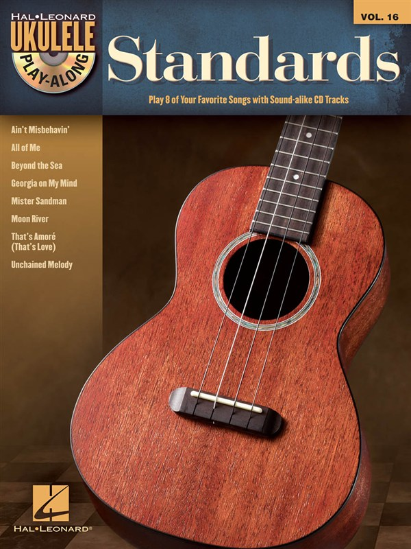 Ukulele Play Along Volume 16 Standards + Cd - Ukulele