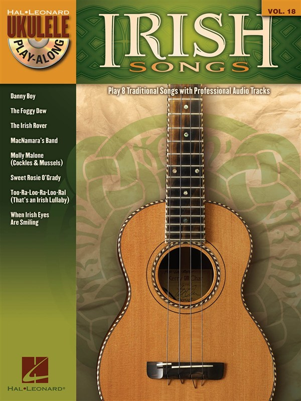 UKULELE PLAY ALONG VOLUME 18 IRISH SONGS + CD - UKULELE
