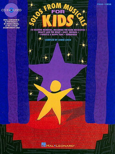 Solos From Musicals For Kids Vocal Collection + Cd - Voice
