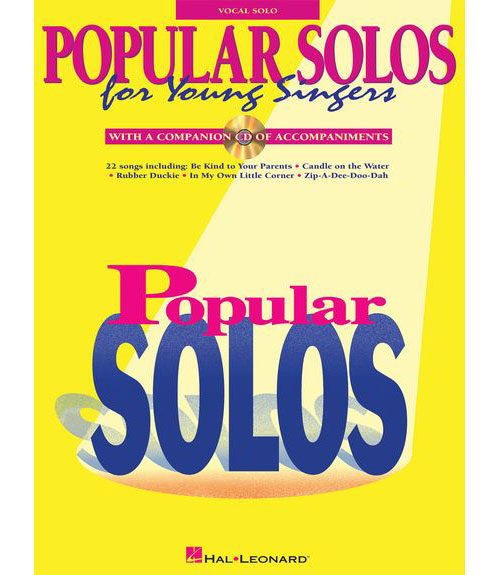 Popular Solos For Young Singers - Voice