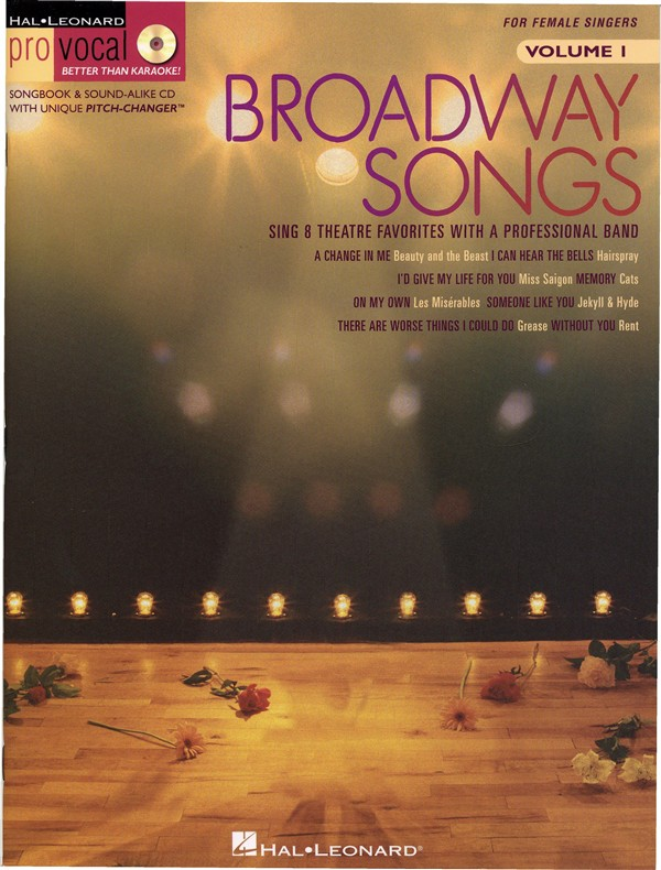 Broadway Songs - Pro Vocal Women's Edition Volume 1 - Voice