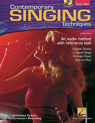 CONTEMPORARY SINGING TECHNIQUES WOMEN'S EDITION - VOICE