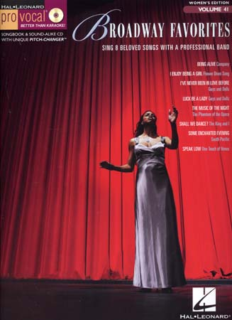 Pro Vocal Vol.41 Broadway Favorites + Cd - Chant