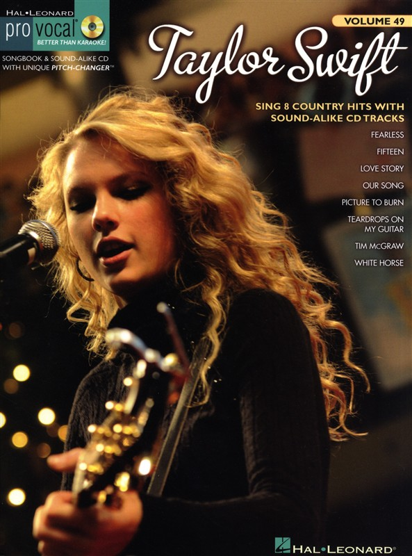 TAYLOR SWIFT+ CD - MELODY LINE, LYRICS AND CHORDS