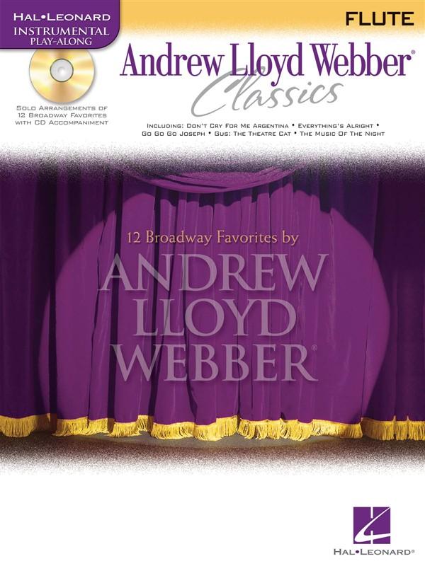 Andrew Lloyd Webber Classics - Flute+ Cd - Flute